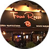 Entrance to Forno Rosso Pizzeria