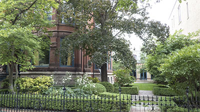 Mansion on Beer Baron Row in Wicker Park